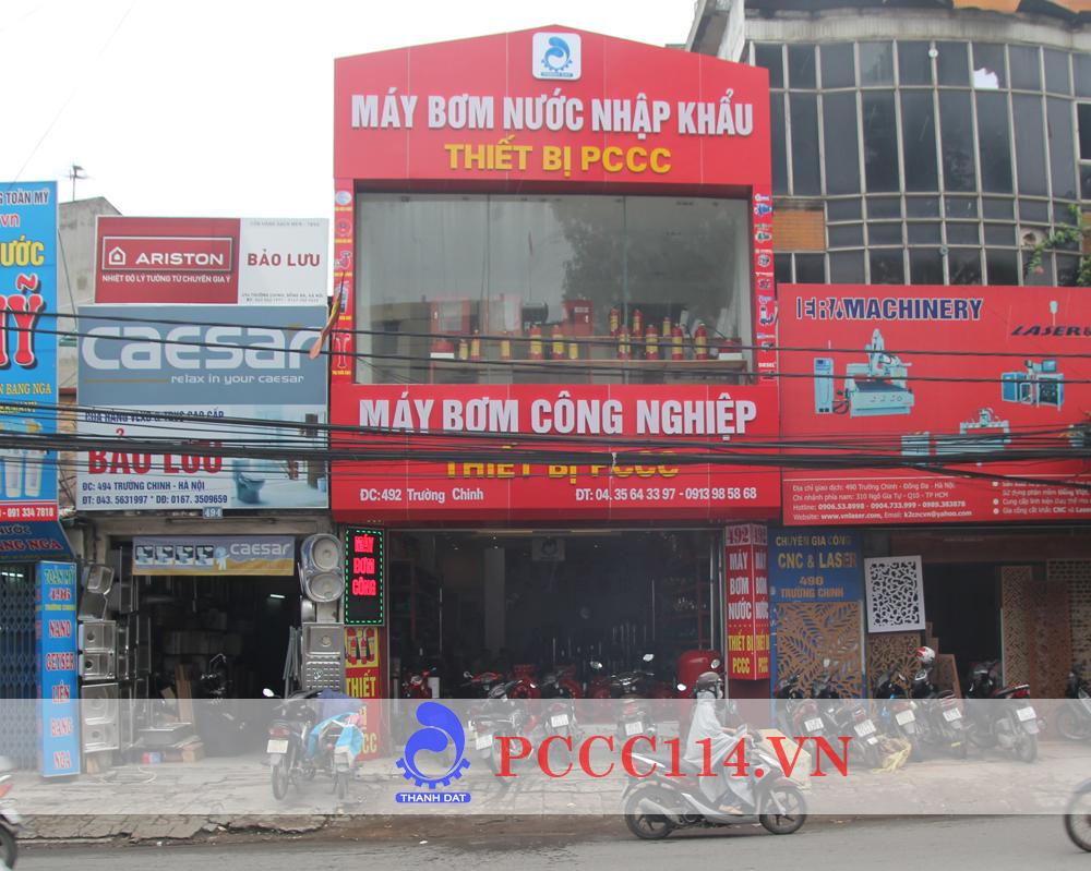 Showroom phòng cháy chữa cháy 492 trường chinh