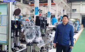 Chuyến thăm và làm việc của GĐ Cty Thành Đạt tại nhà máy sx bơm công nghiệp