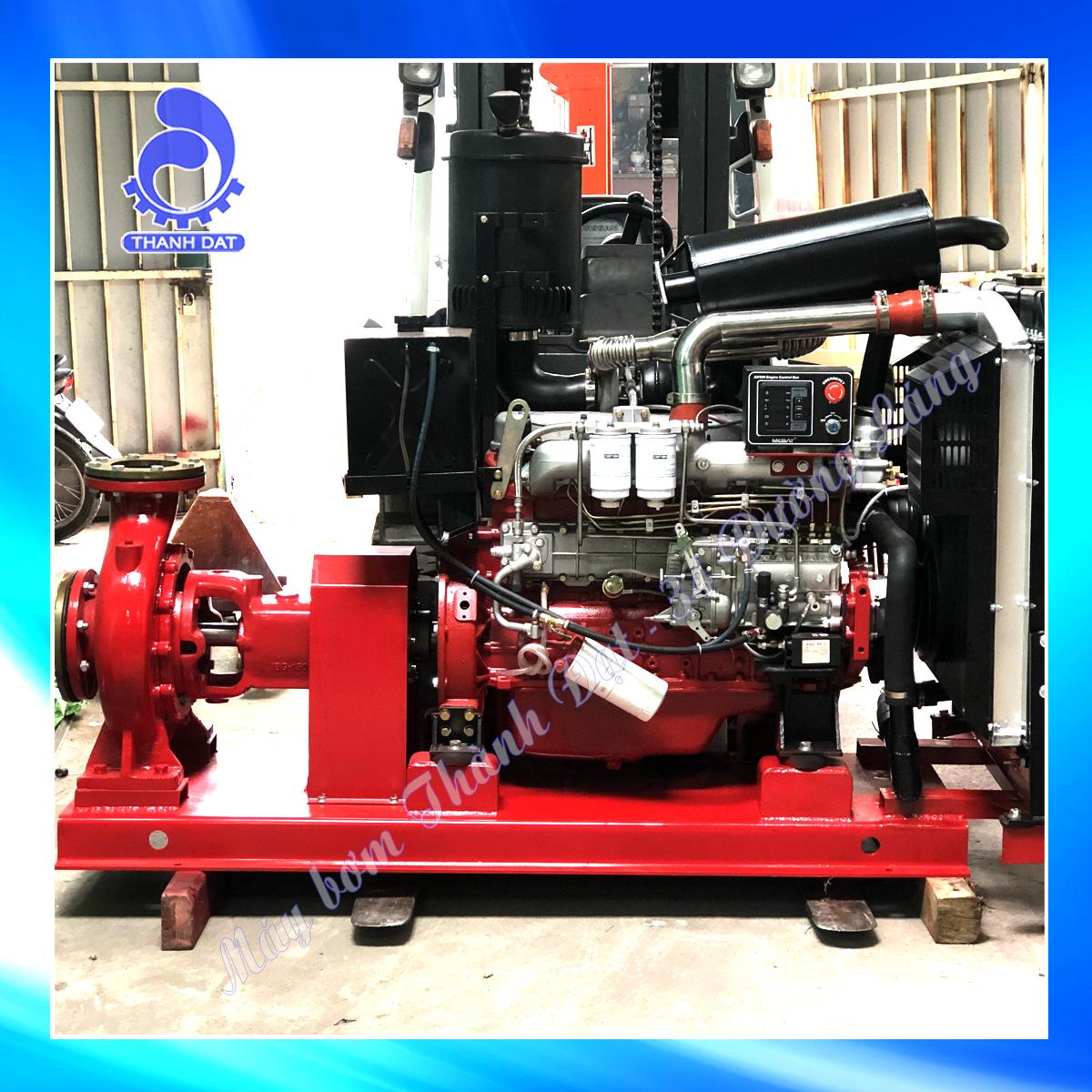 Báo giá máy bơm chữa cháy Diesel Huichai 2021