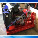 Máy bơm chữa cháy diesel Weifang đầu bơm Inter CA80-200B 40HP 30KW