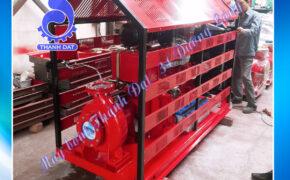 Máy bơm chữa cháy diesel Hyundai đầu bơm Inter CA65-200B 25HP 18.5KW