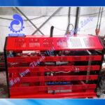 Máy bơm chữa cháy diesel Huichai đầu bơm Inter CA80-250/55 75HP 55KW