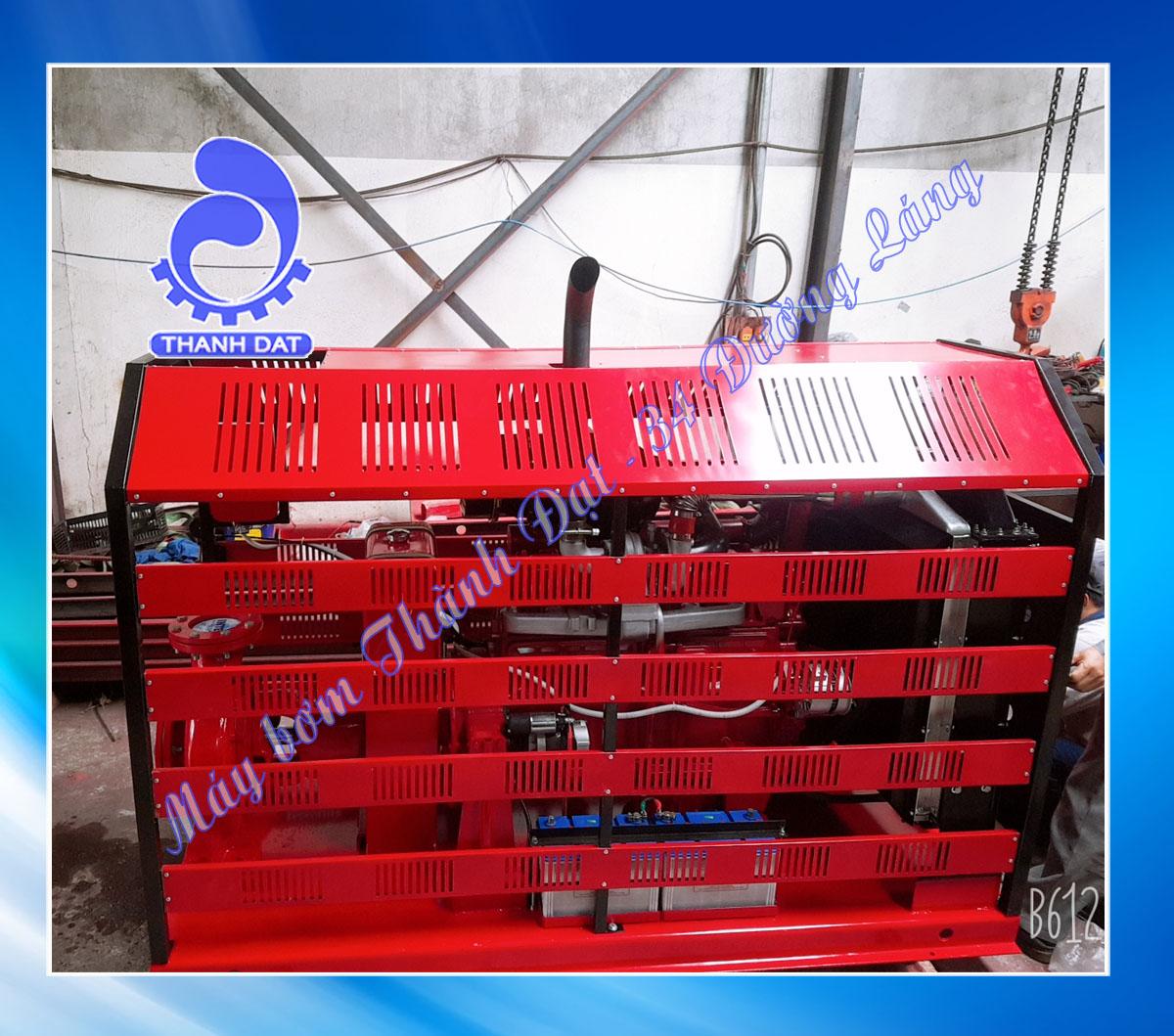 Bơm chữa cháy diesel Weifang đầu bơm Inter CA125-315/132 dòng bơm công suất lớn