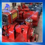 Máy bơm chữa cháy diesel Huichai đầu bơm Inter CA100-315/90 125HP 90KW