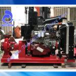 Máy bơm chữa cháy diesel Huichai đầu bơm Inter CA80-315/45 60HP 45KW